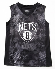 Sizes 8-20 - Big Kids - Brooklyn Nets Digi Camo Tank (8-20)