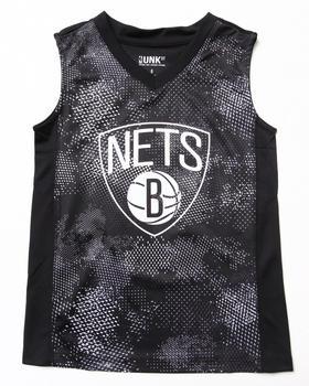 NBA MLB NFL Gear - Brooklyn Nets Digi Camo Tank (8-20)