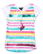 Baby Phat - SEQUIN STRIP TEE (7-16)
