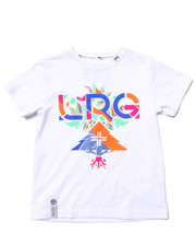 LRG - FLORAL GEO TEE (4-7)