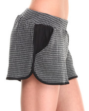 -FEATURES- - Grid Knit Short