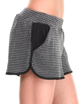 Shades of Grey by Micah Cohen - Grid Knit Short