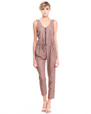 Jumpsuits - Tank Drawstring Jumper
