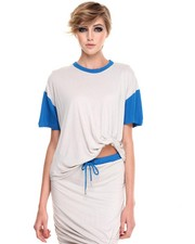 Women - Oversized Panel Top
