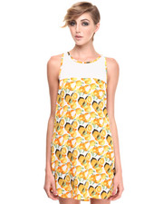 Women - Mesh Lemon Dress