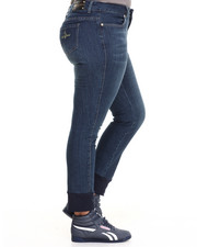 Women - Crew Ankle Jogging Jean (Plus)