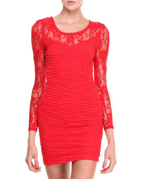 Fashion Lab - Claire Long Sleeve Lace Dress