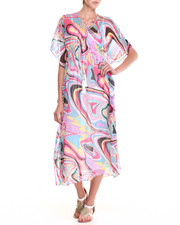Dresses - Chiquita Woven Maxi Dress with multi print