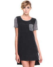 Shades of Grey by Micah Cohen - Oversized T Dress