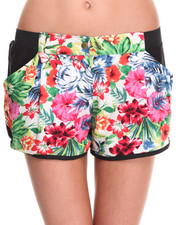 Shorts - Hawaiian Print Short