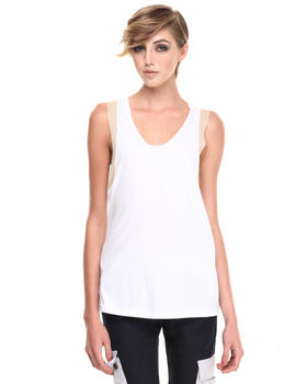 Shades of Grey by Micah Cohen - Mesh Trim Tank