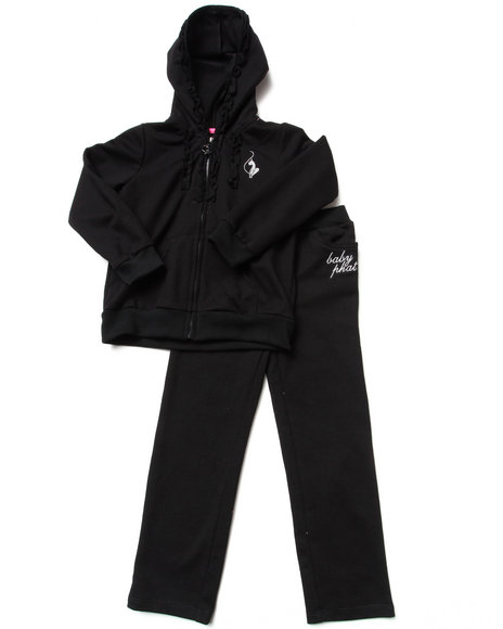 Baby Phat Black Sweatpants
