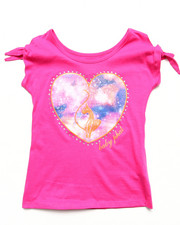 Baby Phat - COLD SHOULDER HEART TOP (7-16)