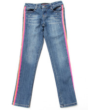 Baby Phat - COLORFUL TAPED JEANS (7-16)