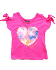 Baby Phat - COLD SHOULDER HEART TOP (4-6X)