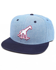 Men - Skate Giraffe Chambray Strapback Hat