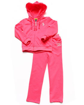Baby Phat - 2 PIECE FRENCH TERRY SET (4-6X)