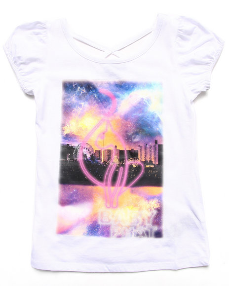 Baby Phat - Girls White Galaxy Tee (7-16) - $19.99