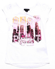 Girls - BABY PHAT CITY TEE (7-16)