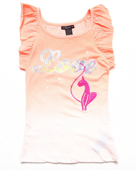 Baby Phat Orange Tank Tops