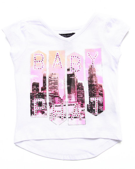 Baby Phat - Girls White Baby Phat City Tee (2T-4T) - $6.99