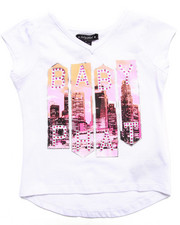 Girls - BABY PHAT CITY TEE (4-6X)