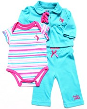 Baby Phat - 3 PC SET - JACKET, BODYSUIT, & PANTS (NEWBORN)