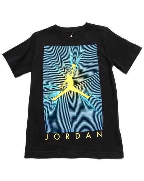 Air Jordan Boys Black Radar Tee (8-20)