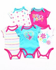 Sets - 5 PACK BODYSUITS SET (NEWBORN)