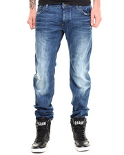 G-STAR - Attacc Zip Pocket Distressed Jean
