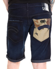 G-STAR - Morris Denim Short w/ Camo Pckt