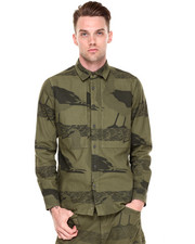 Jackets & Coats - Albatross Camo Shirt Jacket