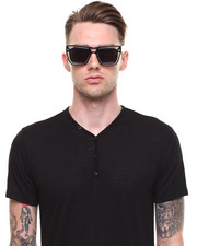 Men - Skeleton Clear Sunglasses