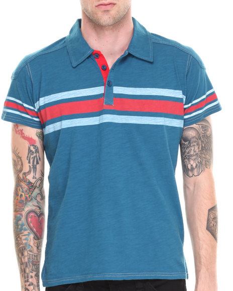 Darring - Men Blue Qualifier Polo