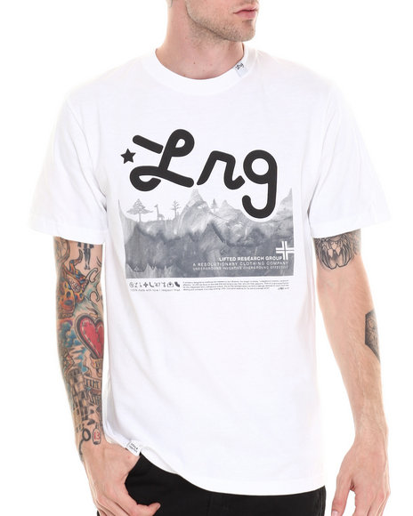 Lrg - Men White Core Collection Four S/S Tee