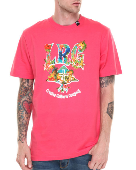 Lrg Pink T-Shirts