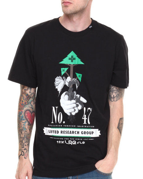 Lrg - Men Black Rooting For You S/S Tee