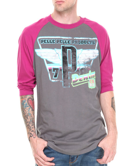 Pelle Pelle Light Grey T-Shirts