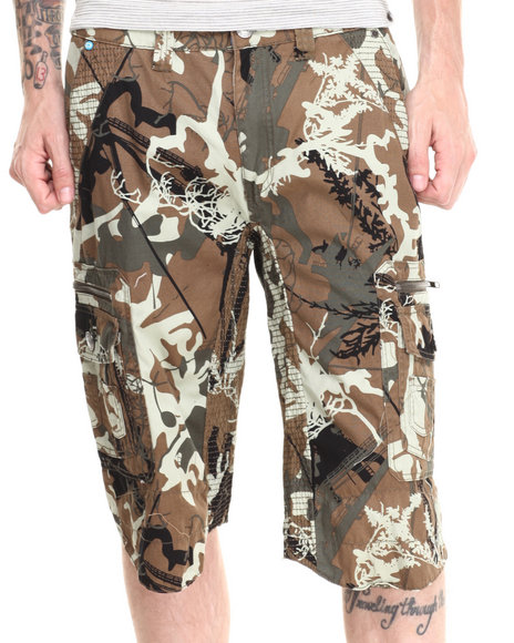 Darring - Men Camo Skyscraper Short