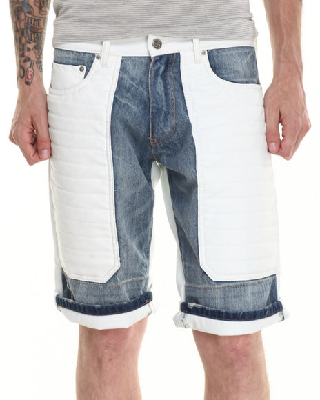 Winchester off White Shorts