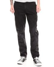 Men - Fader Black Camo Pant