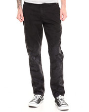 Pants - Fader Black Camo Pant