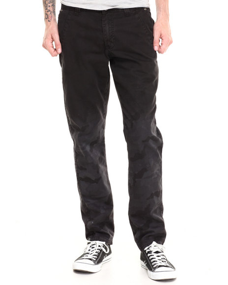Darring - Men Black Fader Black Camo Pant