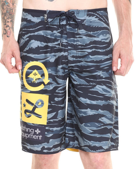 LRG Navy Core Collection Boardshorts
