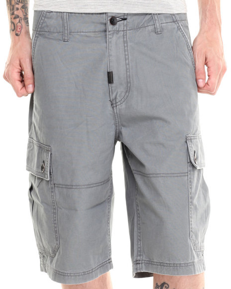 LRG - Men Grey Core Collection Classic Cargo Short I I