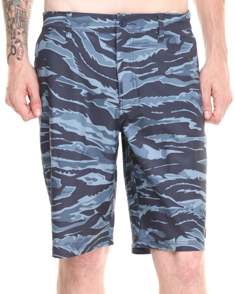 LRG - Men Navy Core Collection Boardwalk Shorts