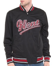NBA, MLB, NFL Gear - Miami Heat Bandana Logo Jacket