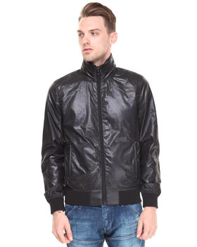 G-STAR - Perforated Nylon Moto Jacket