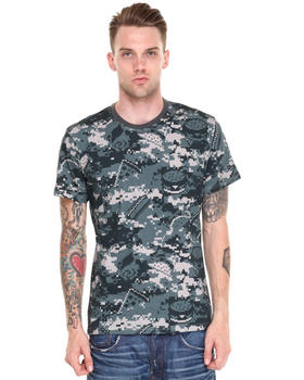 DJP OUTLET - Food Camo Tee