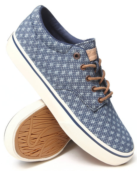 The Hundreds Indigo Johnson Low Cloud Denim Sneakers